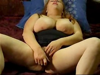 Chubby Finnish woman Venla playing with her pussy