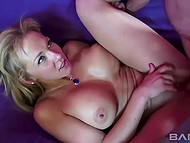 MILFs with big tits participated in group sex so cocks make all of them moan loudly 5