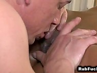 Masseur tried to resist temptation but desire to taste exotic pussy was too alluring 11