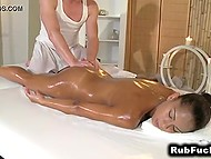 Masseur tried to resist temptation but desire to taste exotic pussy was too alluring 6
