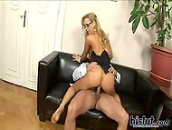 Blonde Aleska Diamond was engaged as personal assistant in exchange for permanent access to her pussy 8