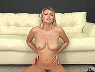 Hardworking boy fucked alluring beauty and released semen on her pretty face twice 10