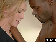 Boyfriend of fetching model Kendra Sunderland dreamed of watching black guy pushing his imposing cock inside her 5
