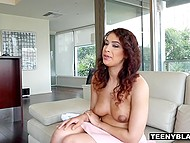Tricky teen is ready to do everything to pass successfully this tough casting 5