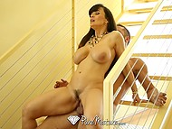 To draw attention of her boyfriend, stunning Lisa Ann finds a clever way to do this 9