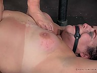 Innocent BBW will never forget such an extreme BDSM humiliation action 4