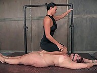 Innocent BBW will never forget such an extreme BDSM humiliation action 5