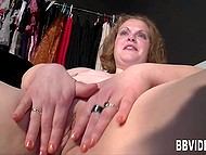 German BBW gladly shows all her talents in front of the camera 10