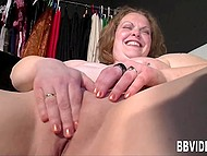 German BBW gladly shows all her talents in front of the camera 11
