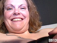 German BBW gladly shows all her talents in front of the camera 8
