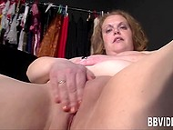 German BBW gladly shows all her talents in front of the camera 9