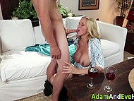 Gorgeous cook has a very special dish for her young and attractive disciple 6