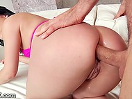 Brunette Kristina Rose has returned to porn three years later and goes anal without a peep 6