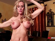 Lad had no sex for a long time after breaking up with girlfriend and breathtaking Brandi Love helped stepson out 3