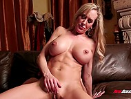 Lad had no sex for a long time after breaking up with girlfriend and breathtaking Brandi Love helped stepson out 7