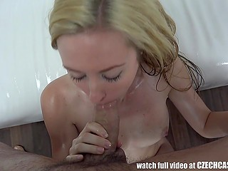 Czech blonde couldn't even think that would be fucked in doggystyle position instead of photo session