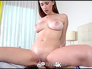 Dirty goil isn't embarrassed at all sucking and riding cock as if she is a desperate whore 5