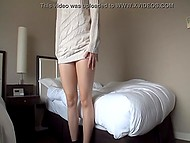 Attractive Japanese was going to show stranger with camera her best sexual abilities 4