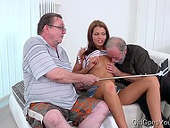 Young whore showed way to old tourists as well as entertained them with her hot body 4
