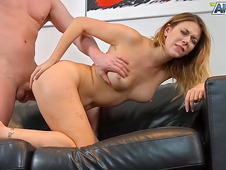 Prolonged petting and sex were good but guy was in need of more pleasure thrust cock into asshole