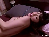 Cute Asian lost her head over sexual desire and fell into strong arms of her rude fucker 11