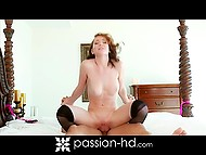 Excited beauty wanted paramour to tie and own her and he fulfilled her desire 11