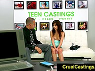 Young Kelly Kitty comes to casting and has to fuck producer in order to obtain the role 4