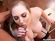Man is personal assistant and has to schedule chubby boss Maisie Blue's day and fuck her from time to time 5