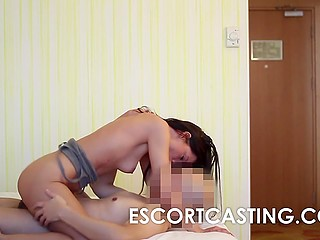 To get a job in escort industry lady had to pass the casting first proving that she is skilled enough