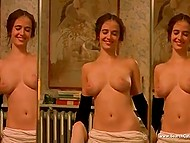 Compilation of nude scenes from different movies starring gorgeous French actress Eva Green