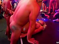 Strippers are working hard to make sure that every lovely chick is going to leave the party satisfied 4