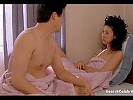 Перед тем как заняться любовью, пара из Азии принимает горячий душ 10