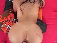 Remarkable Latina with high-class body isn't averse to ride hard penis to get rid of lust 11