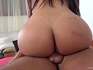 Remarkable Latina with high-class body isn't averse to ride hard penis to get rid of lust 9