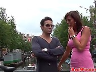 Dude was lucky to have threesome with two hookers in one of Amsterdam brothels 3