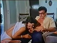 Vintage porn movie from Greece lasting more than an hour with scenes of office and beach fucking 11