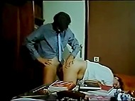 Vintage porn movie from Greece lasting more than an hour with scenes of office and beach fucking 9