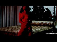 Vintage movie with famous Spanish actress Lina Romay, who often goes nude in front of camera 10