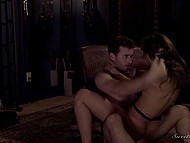 Lovelace caressed trimmed pussy then arranged unforgettable fuck in the comfortable environment 8