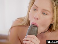 Petite chick couldn't resist any longer so seduced black teacher with huge dick 6