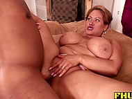 Thanks to immense cock, black lovelace managed to satisfy insatiable BBW 11