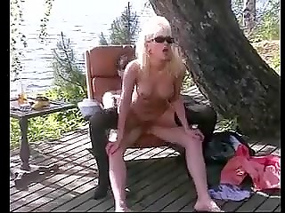 Vintage porn movie reflects sexual adventures of slutty Estonian blonde with big tits
