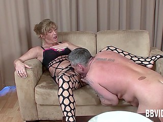 Mature couple from Germany thinks that ardent fucking in front of camera will be a great experience for them