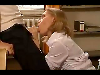 Sensuous German secretary managed to have anal with colleague during lunch break