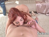 Girls have to steal womanizer's heart and redhead Shona River is the first candidate to fuck 9