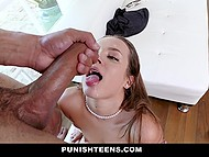 Lustful bodyguard was ready to compromise in exchange for hard fuck in pleasant environment 11