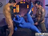 Pirates of the Galaxy were punished for taking blue-skinned alien in sexual slavery 8
