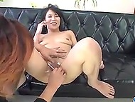 Brave Japanese decides to shave her hairy bush and, moreover, to do it on camera