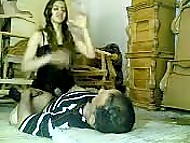 Husband waits for Arab spouse to take off her robe and puts cock inside vagina in homemade XXX video 4