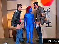 Cyclops helps Wolverine to defeat Mystique and she quickly makes amends for her behavior 7